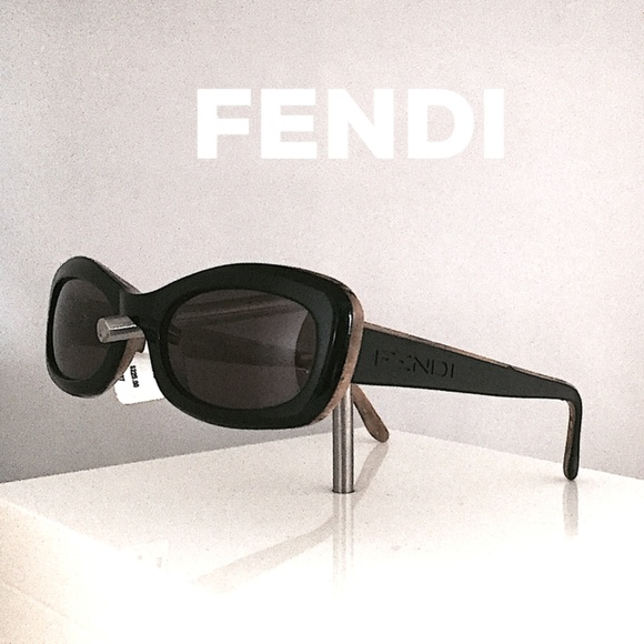 94986470a192 FENDI Black Horn Sunglasses New with Tags.